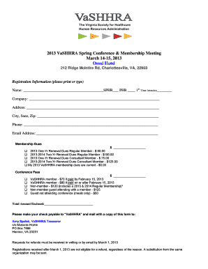 Sara bursary fill online printable fillable blank pdffiller registration form 2013 vashhra spring conference 3docx vashhra thecheapjerseys Images
