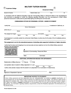 military waiver denied - Edit, Fill Out, Print & Download