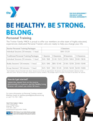 YMCA Membership Flyer Template - Vince Option 1 - ymcahouston