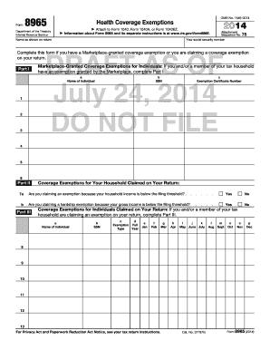 Fillable Form 8965 - Edit Online & Download Best Legal Forms in ...