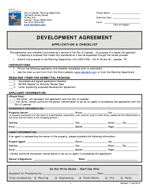 Edit print fill out download online business forms in word pdf development agreement application and checklist 1124 platinumwayz
