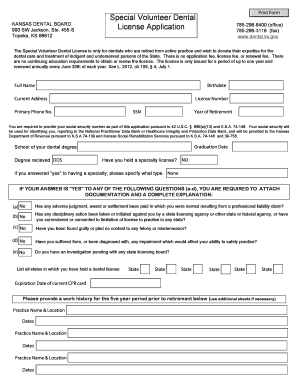 Dental exam form template - Edit & Fill Out, Download Printable ...