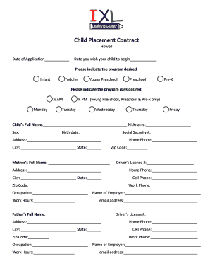 cute relationship contract - Fillable & Printable Resume