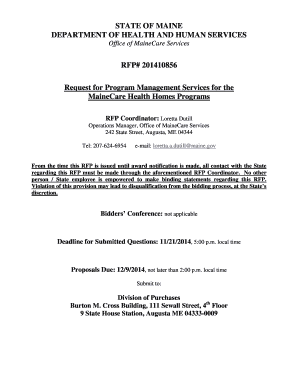 Maine Water Utility Rfp 49