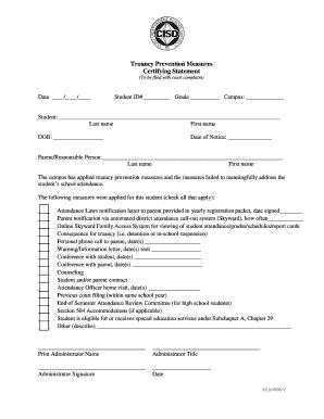 Printable Parent grade warning letter - Edit, Fill Out