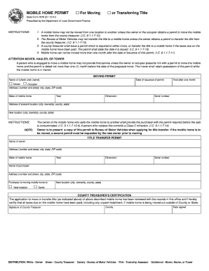 Fillable Texas Mobile Home Title Transfer Form Edit Online