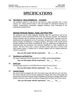 Bid letter for vehicle - Edit, Fill, Print & Download Top Medical