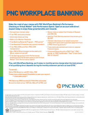 Make the most of your money with PNC WorkPlace Bankings