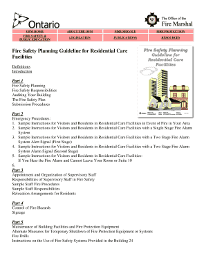 fire drill observation report sample - Fill Out, Print & Download
