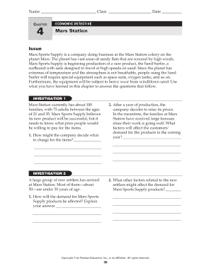 Fillable Online Chapter Economic Detective 4 Mars Station Issue Fax