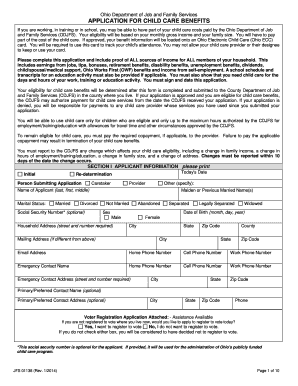 Free Child Travel Consent Form Template. APPLICATION FOR CHILD CARE BENEFITS  Free Child Travel Consent Form Template