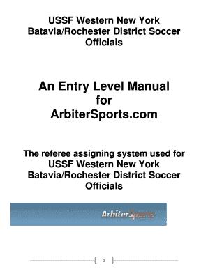 arbitersports assigning