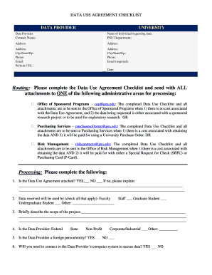 Edit print fill out download online business forms in word pdf routing please complete the data use agreement checklist platinumwayz