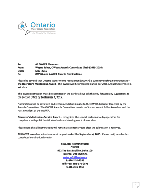 authorization letter for owwa to Download - Editable