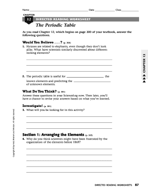 Fillable online methacton chapter 12 directed reading worksheet the fill online urtaz Gallery