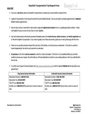 fax form for hopelinks fill online printable fillable blank