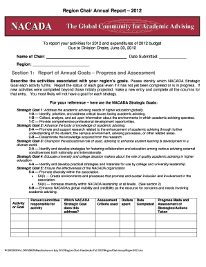 annual report template word forms fillable printable samples for