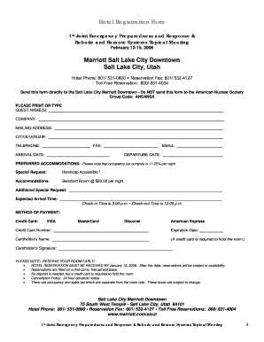 Complete hotel registration form fill online printable fillable complete hotel registration form thecheapjerseys Gallery