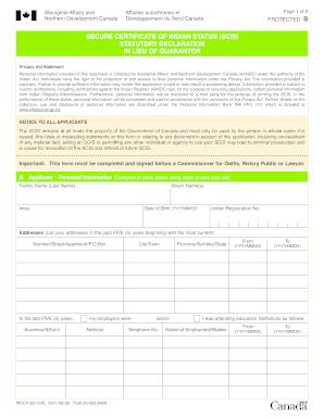 pptc 132 Statutory Declaration In Lieu Of Guarantor Form Canada - Fill Online ...