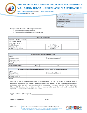 rental applications for florida - Fillable & Printable Top ...