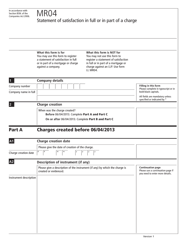 Mr04 Charge - Fill Online, Printable, Fillable, Blank
