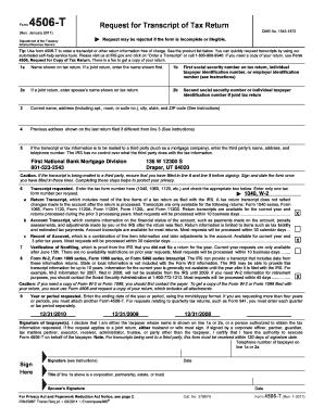 Piggy Bank Loans Login: Tax Form 4506 T Loan Modification