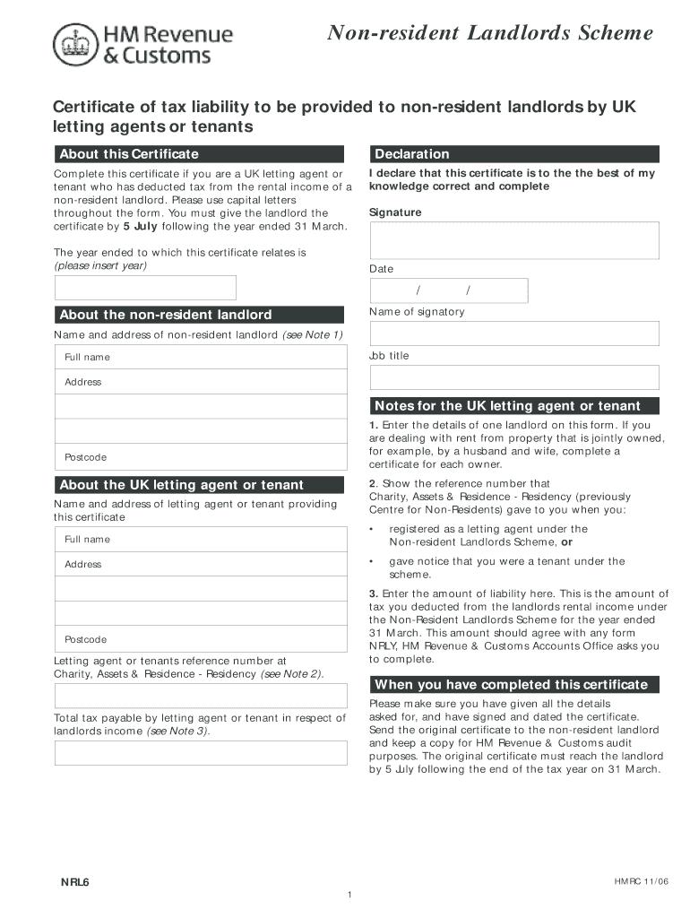 Nrl6 Forms - Fill Online, Printable, Fillable, Blank | PDFfiller