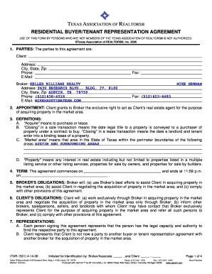 Broker buyer agreement california