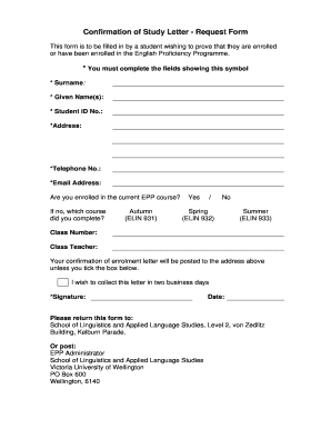 38d051b5f 10 Printable confirmation request letter sample Forms and Templates ...