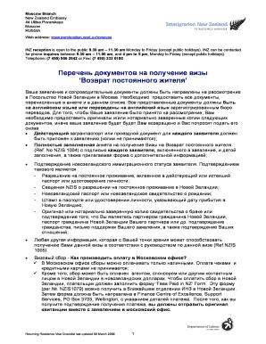 moscow checklist returning residents visa checklist russian immigration govt