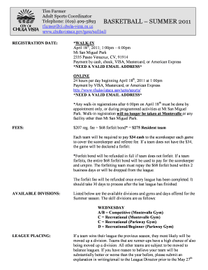 0960 description packet summer 2011 Attached is a copy of the application packet, as well as instructions for completing the  2011 incomplete or late packets will not be considered  summer 2011.