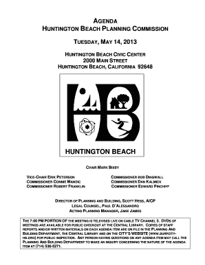 HUNTINGTON BEACH PLANNING COMMISSION - huntingtonbeachca