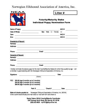 akc puppy registration form - Fillable & Printable Resume Samples
