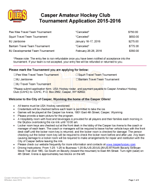 8 team tournament - Fill Out Online Forms Templates