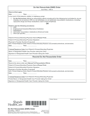 Bill Of Sale Form Florida Do Not Resuscitate Form Download Gambar