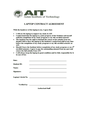 laptop handover letter to employer - Fill Out Online, Download