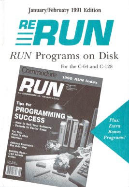 RUN Programs on Disk - computerarchiveorg