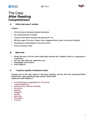 The Copy After Reading - teachingenglishorguk