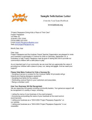 Fillable online unitedwayerie sample solicitation letter sample fill online altavistaventures Images
