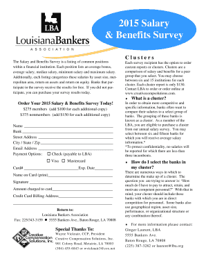 Salary survey flyer - lbaorg