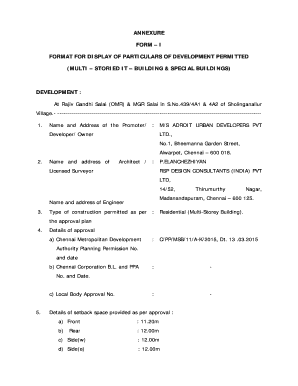 Printable annexure form templates to submit online affidavit of annexure form cmdachennaigovin yelopaper Images