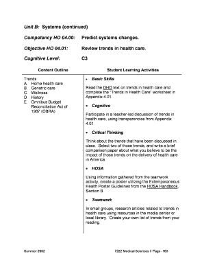 health and wellness worksheets for students - Editable, Fillable