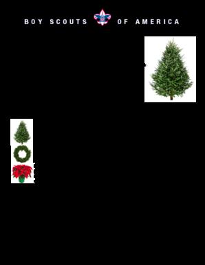 Fillable Online Stmatthewcatholic 2014 Christmas Tree Wreath Amp