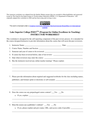 Lake Superior College POETTM Program for Online - lsc