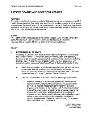 death notification checklist california fill out online download