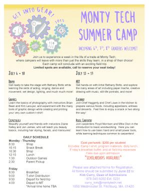 Shift Report Template Excel Monty Tech Summer Camp