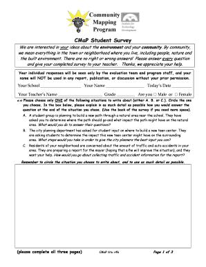 Fillable online peecworks peec x project student survey template fill online maxwellsz