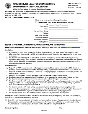 Ford Federal Direct Loan (Direct Loan) Program WARNING: Any person who knowingly makes a false statement or misrepresentation on this form or on any accompanying document is subject to penalties that may include fines, imprisonment, or