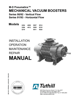 Fillable Online Product Manual for M-D Pneumatics Model 3200