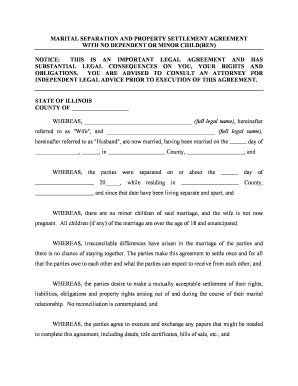 Fillable quit claim deed illinois divorce download templates in illinois marital settlement agreement form platinumwayz